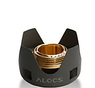 ALOCS Copper Stove Black Sets Camping BBQ Traveling Outdoor