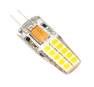 2W G4 LED Bi-pin Lights T 20 SMD 2835 280-300 lm Warm White / Cool White Decorative AC/DC 12 V 1 pcs