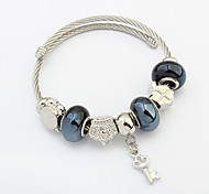 Women's Charm Bracelet Alloy Fashion Dark Blue Jewelry 1pc