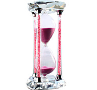 Toys For Boys Discovery Toys Hourglasses Heart-Shaped Glass Blue Pink Purple