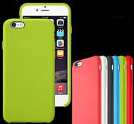 Für iPhone 7 Hülle / iPhone 7 Plus Hülle / iPhone 6 Hülle / iPhone 6 Plus Hülle Stoßresistent / Other Hülle Rückseitenabdeckung Hülle