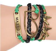 Women's Bangles Alloy Handmade Fashion Heart Jewelry Jewelry 1pc