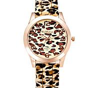 Damen Modeuhr Armbanduhr Quartz / Silikon Band Cool Bequem Weiß Orange Braun Grün Beige Weiß Orange Beige Braun Grün