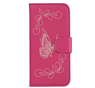 For LG LG K10 / LG K8 / LG K7 / LG K5 / LG G5 The Butterfly PU Leather Case
