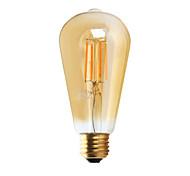 1 pezzo GMY E26 3W 4 COB ≥300 lm Bianco caldo ST21 edison Vintage Lampadine LED a incandescenza AC 110-130 V