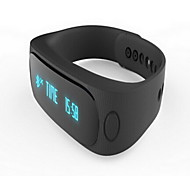 Smart BraceletWater Resistant/Waterproof / Long Standby / Calories Burned / Pedometers / Health Care / Sports / Heart Rate Monitor /