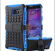 For Samsung Galaxy Note Wallet / Shockproof / with Stand / Flip Case Back Cover Case Armor PC Samsung Note 5