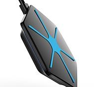 mindzo великолепное беспроводное зарядное устройство для QI-совместимыми устройствами, включая s6 s6 края s7 s7 края примечание 5 7