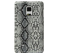 For Samsung GALAXY Note Edge N9150 Case Cover Snake Pattern PC Protection Back Cover Case