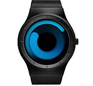 Men's Wrist watch Unique Creative Watch Quartz Water Resistant/Water Proof Shock Resistant Stainless Steel Band Casual Black Brand SINOBI
