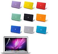 высокое качество кейс матовый корпус и полный экран protetive пленка для Macbook Air 13,3 дюйма