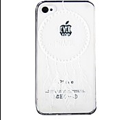 Dreamcatcher Pattern Transparent Back Case for iPhone4/4S