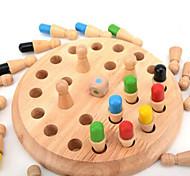 Blocos de Construir / Jogo de Tabuleiro / Brinquedo Educativo para presente Blocos de Construir Hobbies de LazerCircular / Forma