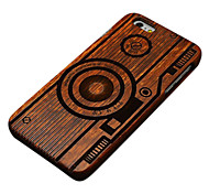 Pear Wood Camera Hard Back Cover for iPhone 6/6S