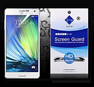 Protector de pantalla de alta definición con polvo absorbente para la galaxia a5 (5 piezas)