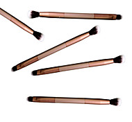 Eye Shadow Brush Makeup Brush Double Beauty Makeup Tools Colour Makeup Brush*5Pcs/sets