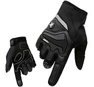 Gloves Sports Gloves Men's Cycling Gloves Spring Autumn/Fall Winter Bike Gloves Shockproof Breathable Wearproof Full-finger Gloves Lycra