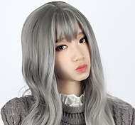 Sweet Lolita Elegant Curly Gray Lolita Wig 70cm CM Cosplay Wigs Wig For Women