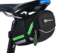 Bolsa de BicicletaBolsa para Bagageiro de BicicletaÁ Prova-de-Água Zíper á Prova-de-Água Camurça de Vaca á Prova-de-Choque Vestível