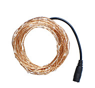 Christmas Light 3 Color 10m 100 LED Copper Wire LED Light String Star Light