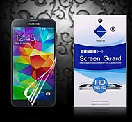 Protector de pantalla de alta definición con polvo absorbente para samsung i9600 galaxy s5 (PC 1)