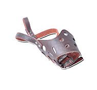 Muzzle Anti Bark Solid Genuine Leather