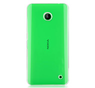 For Nokia Case Transparent Case Back Cover Case Solid Color Hard PC Nokia Nokia Lumia 630