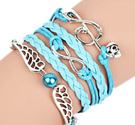 Women's Bangles Alloy Handmade Fashion Jewelry Wings / Feather Music Notes Jewelry 1pc