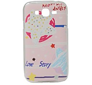 For Samsung Galaxy Grand Neo I9060 Case Cover Word Phrase PC Protection Back Cover Case