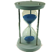 Hourglasses Model & Building Toy Cylindrical Glass Blue For Boys / For Girls 5 to 7 Years / 8 to 13 Years / 14 Years & Up
