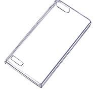 Per Custodia Huawei / P8 Transparente Custodia Custodia posteriore Custodia Tinta unita Resistente PC Huawei Huawei P8 / Huawei P7 / Other