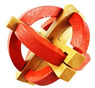 Blocco Ming Kong Giocattoli Legno Rosso Per bambini Per bambine Da 5 a 7 anni Da 8 a 13 anni 14 Anni e oltre
