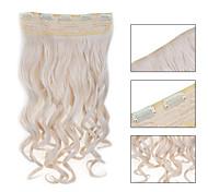 5 роликов волнистые 60 # синтетический зажим для волос в волос расширений для дам больше цветов, доступных