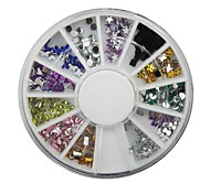 1pcs Color Profiled Diamond Drill  Nail Polish Nail Jewelry