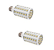 2 pcs 10W E27 LED Corn Lights T 60 SMD 5050 880 lm Warm White AC 220-240 V