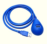 Super Speed USB 3.0 Male to Female Extension Dock Station Docking Cable 1.5M