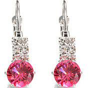 Drop Earrings Crystal Simulated Diamond Alloy Jewelry Party 1 pair