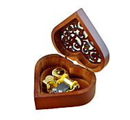 Music Box Castle in the Sky Sweet / Special / Creative Metal / Wood Brown / Golden For Boys / For Girls