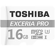 Toshiba 16GB Tarjeta TF tarjeta Micro SD tarjeta de memoria UHS-I U3 Clase 10 EXCERIA PRO