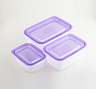 3 Küche Plastik Brotdosen