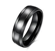 Муж. Кольцо европейский бижутерия Нержавеющая сталь Титановая сталь Бижутерия Назначение Для вечеринок Повседневные