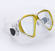 Diving Masks Swimming Goggles Swim Mask Goggle Diving / Snorkeling Swimming Plastic Glass Red Yellow Blue Black White-THENICE