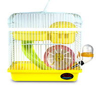Rodents Cages Stainless Steel Blue Yellow Multicolor