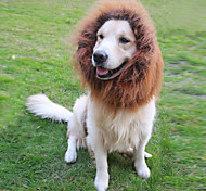 Cat / Dog Costume / Wig Black / White / Brown Dog Clothes Summer / Spring/Fall Animal Cosplay / Lion