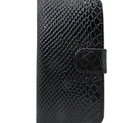 For Samsung Galaxy S3 Case Cover Snakeskin Leather Full Body Cover with Card Case