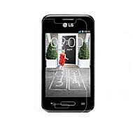 grande transparence protecteur d'écran hd lcd pour lg L40 (3 pièces)