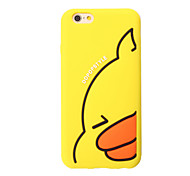 3D Yellow duck Silicone Case for iPhone 7 7 Plus 6s 6 Plus