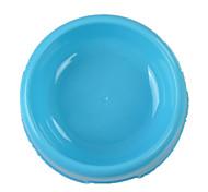 Chat Chien Bols & Bouteilles d'eau Animaux de Compagnie Bols & alimentation Portable Pliable Bleu Rose Silicone