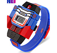 SKMEI Electronic Watch Creative Personality Fashion Cartoon Watch LED Watch