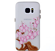 For Samsung Galaxy S8 Plus S7 Glow in the Dark Pattern Case Back Cover Case Flower Soft TPU S8